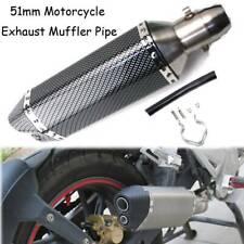 Universal Motorcycle Dirt Bike Exhaust Muffler Pipe For Suzuki SV650SF 2008-2009