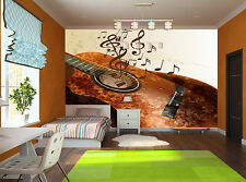 Music Vector - Guitar Wall Mural Photo Wallpaper GIANT DECOR Paper Poster