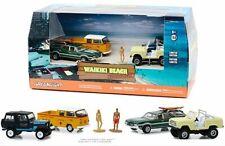 Greenlight 1:64 Multi-Car Diorama Waikiki Beach Summer Bash Diecast Cars58050