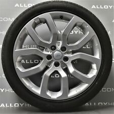 """GENUINE RANGE ROVER L405/L494 SPORT 22"""" INCH STYLE 5004 ALLOY WHEELS & TYRES X4"""