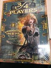 NEW SEALED Dungeon Twister Expansion 2 II 3/4 PLAYERS Board Game RARE