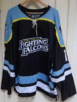 Port Huron Fighting Falcons #12 MATT JONES Away Game Worn Hockey Jersey NAHL