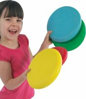 Foam Flyers. Soft Discs ( 4 Pack ) - Children's Soft Frisbee Toys