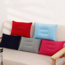 Home Air Inflatable Pillow Travel Camping Beach Cushion Rest Head Neck Support