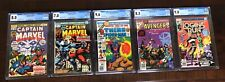 Thanos! Captain Marvel 28 & 33 + Marvel Two In One 2 + Avengers 7 + more. CGC