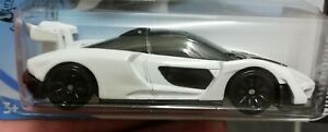 Hot wheels McLAREN SENNA white new without package