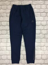 ADIDAS JUNIOR UK M 11-12 YEAR NAVY BLUE Z.N.E.JOGGING BOTTOMS PANTS SPORTS