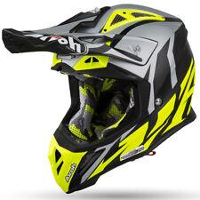 2019 Airoh Aviator 2.3 AMS Helmet Great Yellow Matt Motocross Enduro L 59-60cm