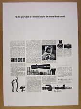 1970 Hasselblad Camera System backs lenses camera photo vintage print Ad
