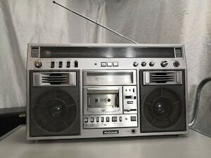 National RX-5600 Stereo Boombox Multi-Voltage