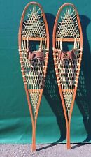 Alaskan SNOWSHOES 58x12 w/ Old Style Leather Bindings SNOW SHOES!