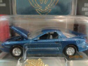 1:60 Racing Champions Mint 1996 Pontiac Firebird blue & Emblem
