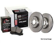 Centric 908.40091 Semi-Metallic Front Disc Brake Pad and Rotor Kit