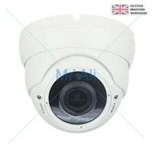 HD TVI 2 MP 4 In 1 Dome CCTV Varifocal Zoom Focus Security Camera Night Vision