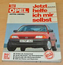 OPEL Astra Diesel 1,7l Limousine Kombi GL GLS Club Reparaturanleitung JHIMS 162