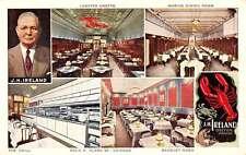Chicago Illinois Ireland Oyster House Multiview Vintage Postcard K38174