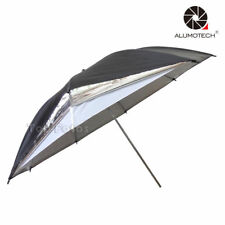 "Photo 33"" Black Silver Reflector Umbrella with Light Sphere Flash Light Soft Box"