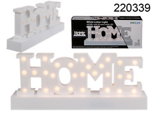 'Home' LED sign