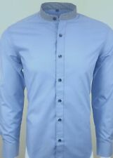 Regular Size Striped Single Cuff Formal Shirts for Men