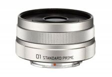 Pentax 22067 Pentax Q 01 Standard Prime Objektiv Silber Japan Import mit Tracking