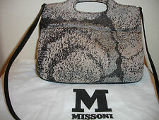Missoni Metallic Fabric Handbag