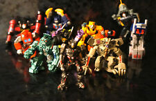 x11 TRANSFORMERS Mixed LOT Action Figure Robot Figurines Movie Toys Comic Model