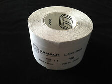 Hamach 119080 Dynamic Schleifpapier Rolle 95 mm x 23m - P80