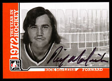 09 ITG 1972 THE YEAR IN HOCKEY AUTO AUTOGRAPH RICK MacLEISH PHILADELPHIA FLYERS
