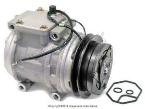 PORSCHE 911 (1989-1992) A/C Compressor with Clutch DENSO OEM + 1 YEAR WARRANTY