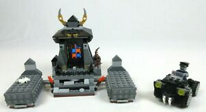 USED LEGO MONSTER FIGHTERS 9465 THE ZOMBIES & 40076 ZOMBIE CAR BOTH INCOMPLETE