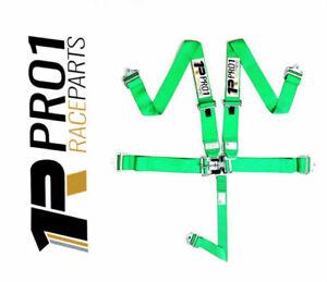 EXPRESS Post | SFi 16.1 5pt Harness Belt | GREEN | Speedway CAMS Drag Race ANDRA