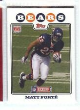MATT FORTE 2010 TOPPS KICKOFF RC ROOKIE #188 CHICAGO BEARS TULANE GREEN WAVE