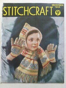 STITCHCRAFT December 1944 - Needlework Magazine