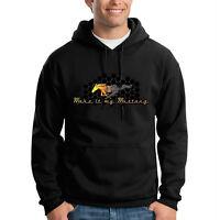Make It My Mustang Ford Honeycomb Grill American Car Hooded Sweatshirt Hoodie