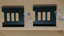 """2 Pack of 2.5"""" SSD HDD To 3.5"""" Metal Mounting Adapter hard drive Bracket ZB13000"""