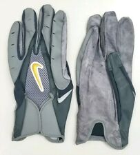 Nike Adult College 05 Threat Football Gloves Leather Palms Sz Xxl/2Xl