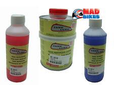Tank Cure Fuel Petrol Tank Restoration Kit, Cleaner, De Rust & Epoxy Sealer 450g