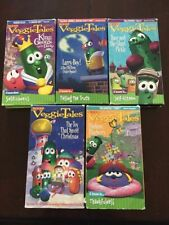 Veggie Tales - VHS Lot of 5 Movies
