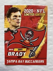 2020 Tom Brady Limited Edition Tampa Bay Buccaneers Rookie Gems Card