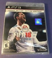 FIFA 18 [ Legacy Edition ] (PS3) NEW