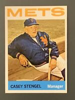 1964 Topps #324 Casey Stengel HOF EXMT New York Mets