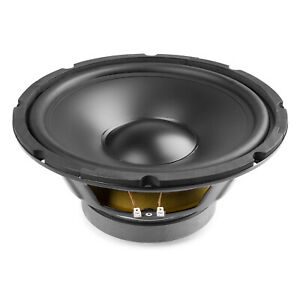 250W Max 10 inch 8 Ohm HiFi PP Replacement Bass Woofer Speaker Cone