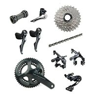 Shimano Ultegra R8000 2 x 11 Speed 50/34T Road Racing Bike Groupset Build Kit