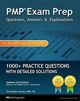 (Physical Book) Pmp Exam Prep Questions, Answers, & Explanations: 1000+ Practice