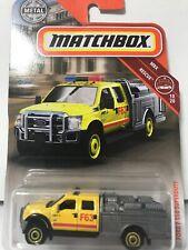 2019 Matchbox #47- MBX Rescue  10/20 - Ford F-550 Superduty