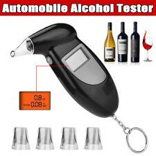 Digital LCD Breathalyzer Breath Test Police Alcohol Tester Analyzer Detector NEW