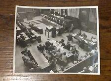 Nuremberg Trial -Original 8x10 photo