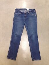 """damen h & m """"skinny"""" jeans-w30 l32-dunkelblau-super zustand"""