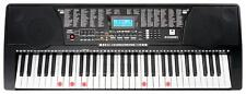 61 Leucht Tasten Keyboard E-Piano Lern Klavier 255 Sounds & Rhythmen USB MP3