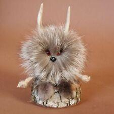 Wolpertinger Wolpi Mini Präparat taxidermy mit roten Augen Geschenk Gaudi Deko